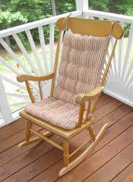 Outdoor Wood Rocking Chair Furniture Rocking Chair Cushions Rocking Chair Cushions
