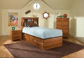twin captains bed with bookcase headboard city park kids twin captain bed w bookcase headboard 4851 4861 the
