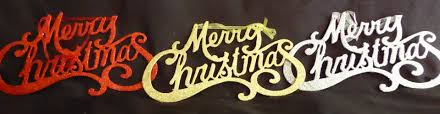 merry christmas sign glittery wall hanging traditional merry christmas sign decoration