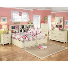 Ashley Furniture Kids Bedroom by Retreat Full Bookcase Bed 5 Pc Bedroom Package