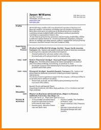 Best Resume Models by 7 Us Resume Format Autobiography Format