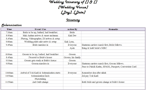 wedding itinerary our wedding itinerary everything anything with a pinch of zzanyy