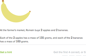 word problems with mass practice mass khan academy