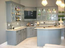 Painted Glazed Kitchen Cabinets Painted Wood Kitchen Cabinets Kitchen Paint Colors With White