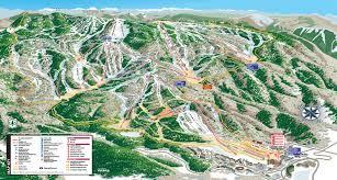 Montana Ski Resorts Map by Steamboat Ski Resort Skimap Org