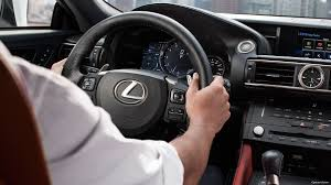 lexus steering wheel logo 2017 lexus rc f luxury sport coupe technology lexus com