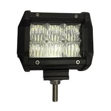 Led Flood Light Bars by Blazer International Led 4 In Off Road Light Bar With Flood Beam