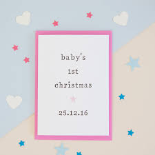 baby u0027s first christmas u0027 gift tag by the two wagtails