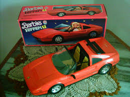barbie red cars barbie ferrari my barbies were classy ladies things i had when
