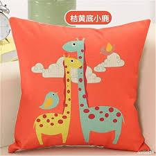 taie d oreiller pour canapé m f 45 7cm carré dessin animé enfants décoratifs housses de