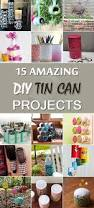 1342 best diy glass plastic tin can crafts images on pinterest