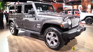 jeep wrangler 2017 2017 jeep wrangler sahara exterior and interior walkaround