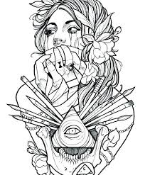 coloring pages henna art tattoos coloring pages cool tattoos on coloring pages for girls