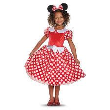 minnie mouse costume minnie mouse classic costume walmart
