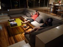 Open Seating Living Room Furniture U0026 Accessories Ideas Of Sunken Seats Make Living Room