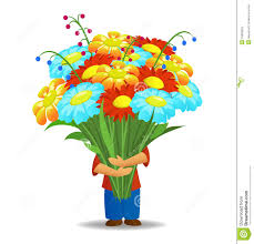 flowers for men men hold bouquet of flowers stock photography image 15853032