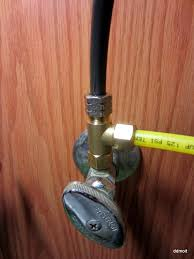 kitchen faucet splitter connecting 3 8 pex to a standard water shutoff terry