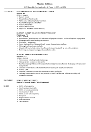sle of resume internship supply chain resume sles velvet