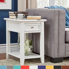 chairside table with charging station zayden 1 drawer side table with charging station by inspire q bold