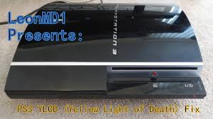 ps3 yellow light of death fix ps3 yellow light of death ylod fix youtube