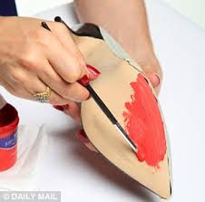 Spray Paint Your Shoes - can you really make diy louboutins daily mail online