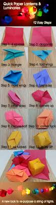 How To Make Paper Light Lanterns - how to make paper lanterns with lights