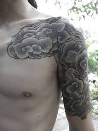 with clouds japanese sleeve search pinteres