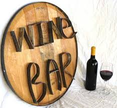turning salvaged wood into decor by wine country craftman