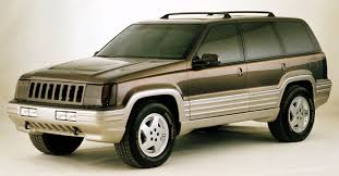 jeep grand cherokee concept vehicles