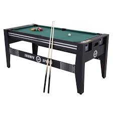triumph 4 in 1 game table 4 in 1 combo rotating game table 72 walmart com