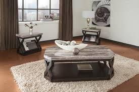 radilyn coffee table set t568 by ashley polyurethane top x pattern le