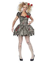 Creepy Doll Halloween Costume Womens Creepy Doll Costumes Voodoo Doll Broken Doll