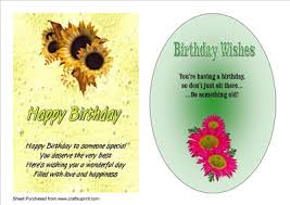 two a5 birthday cards with verses cup208422 33 craftsuprint