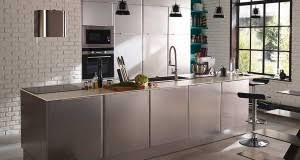 cuisine tout inox la cuisine ouverte inspire les collections ikea et castorama