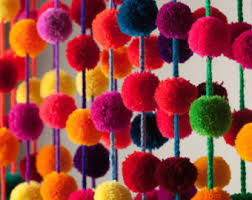 Homemade Pom Pom Decorations Diy Pom Poms U0026 Tassels Etsy