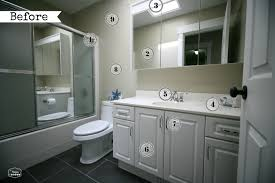 main bathroom makeover inspiration one room challenge the
