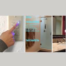 Humidity Sensing Bathroom Fan With Light by Topgreener Tdos5 Het06a Bathroom Fan Timer Switch U0026 Light Sensor