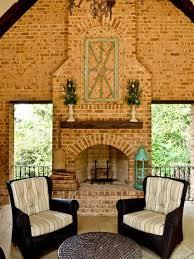 Dynamic Home Decor Houzz Brick Fireplace Mantel Houzz