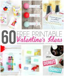 60 free printable valentine u0027s