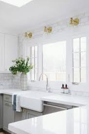 marble subway tile kitchen backsplash emerson project webisode reveal marble subway tiles gray