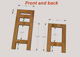 Outdoor Wooden Chairs Plans How To Make Bar Stools