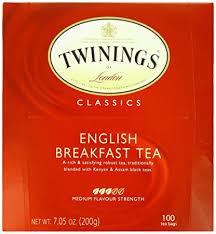 twinings tea breakfast 100 count 7 05 oz