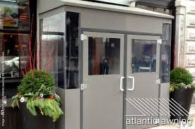 Awnings For Businesses Vestibules U0026 Enclosures Atlantic Awning