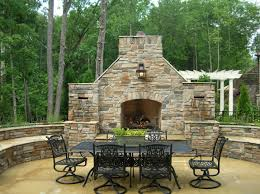 Outdoor Fireplaces Pictures by Master U0027s Stone Group Charlotte Stone Mason And Paver Installer