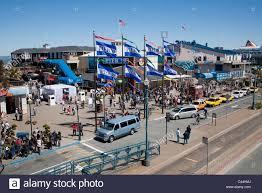 flags and aquarium at pier 39 fisherman u0027s wharf san francisco