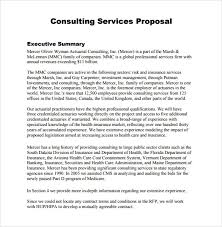 insurance proposal template sample consultant proposal 5