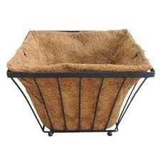 Square Metal Planter by Arcadia Garden Products Metal Planters Pots U0026 Planters The