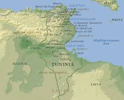 tunisia physical map exle fourth development project