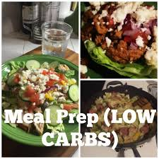 low carb meal prep youtube