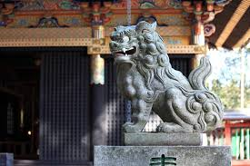 lion dog statue japan s guardian lion dogs koma inu taiken japan